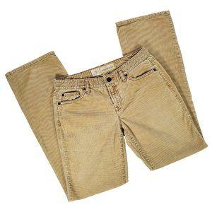 LOFT Tan Corduroy Boot Cut Pants size 4